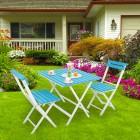 Prado Adaliss Bistro Bahçe Balkon Masa Sandalye Takımı Yeşil