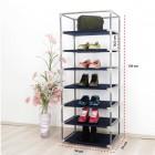 Prado 7 Raflı Çelik Profilli Bez Dolap, Bez Ayakkabılık