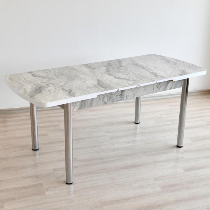 Prado Açılır Kelebek Yemek Masası Metal Ayaklı MERMER GRİ