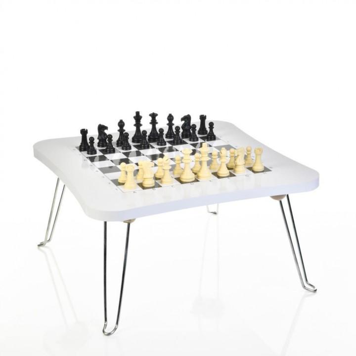 Prado Katlanır Satranç Oyun Sehpası, Satranç Takımı
