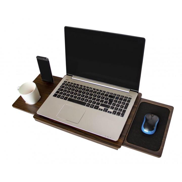 Prado Laptop Sehpası, Laptop Standı Düzenleyici  CEVİZ
