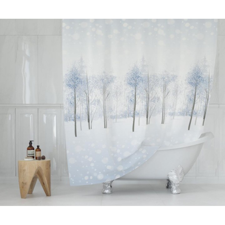 Prado Snow Banyo Duş Perdesi 180x200cm