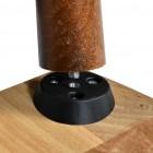 Prado Tonik Ayaklı Zigon Sehpa, Servis Sehpası CEVİZ