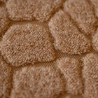 Prado Wellsoft Kumaş Halı Örtüsü Crack Kahve 150x233